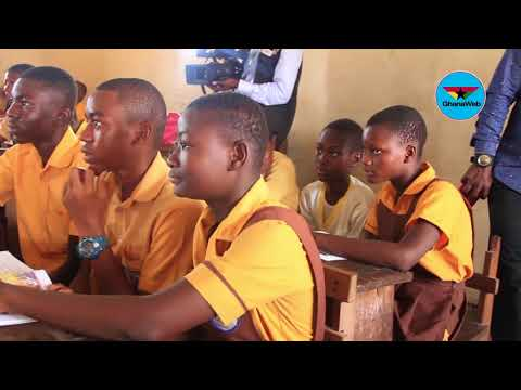 Deputy Education Minister tours selected schools in the Greater Accra Region