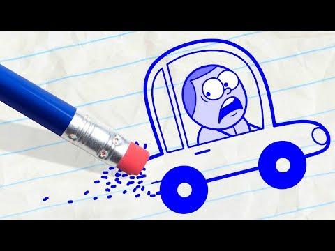 Pencil is Driving Pencilmate Crazy! MEGA...