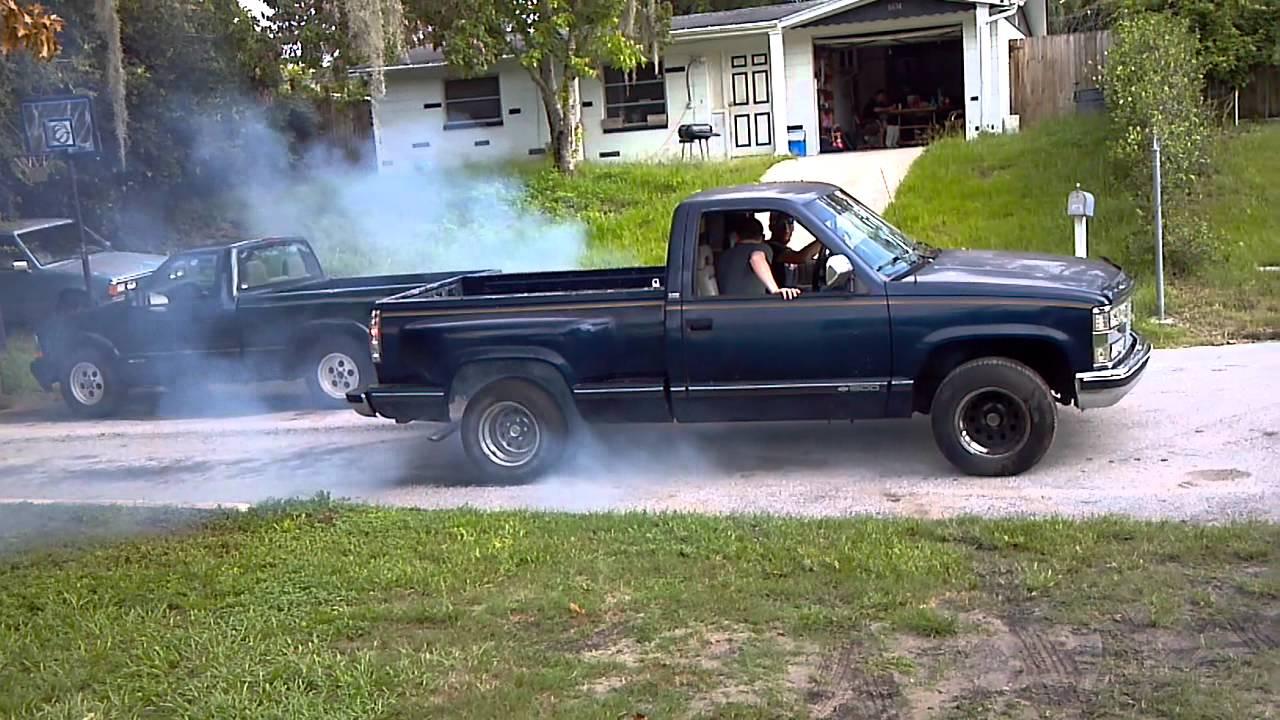 Blue Gmc Truck >> 1993 Chevy Stepside - YouTube