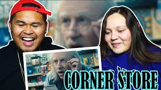 MACKLEMORE - CORNER STORE FT. DAVE B AND TRAVIS THOMPSON | REACTION!