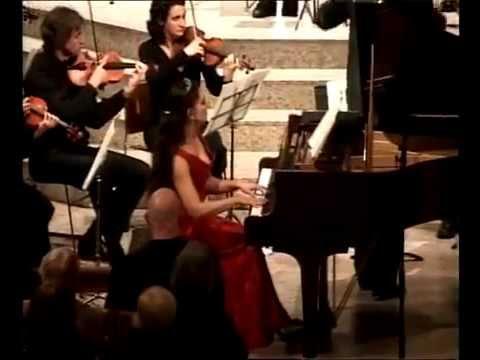 Mozart Piano Concerto no 21 Andante   Eleonora Bekova