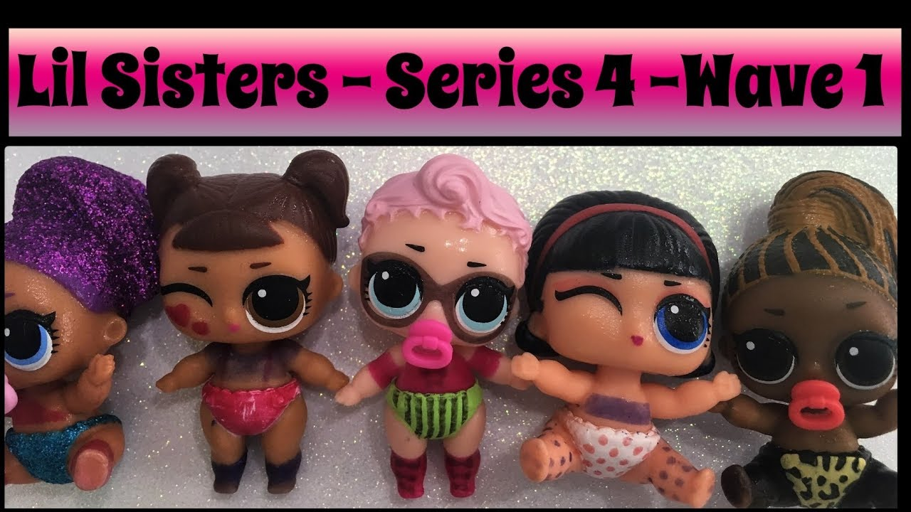 New LOL Surprise Series 4 Eye Spy Wave 2 Color Changer Lil Miss Jive