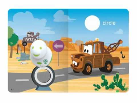 LeapFrog Tag Book - Disney Pixar Cars: Shapes All Around!   Learn to Read System from YouTube · Duration:  50 seconds