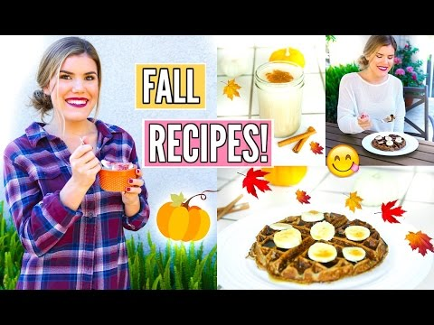 Healthy Breakfast Recipe Ideas ~ Fall Edition!
