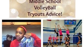 Middle School Volleyball Tryout Advice! :) Thumbnail