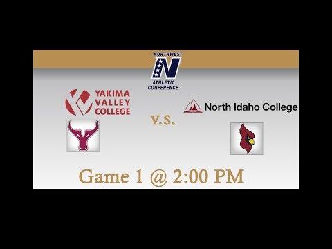 Yakima Valley Community College vs North Idaho College: Game 1
