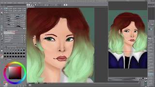 Oc Speedpaint | Dawne | Clip Studio Paint