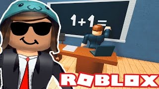 LETS PLAY ESCAPE HIGH SCHOOL OBBY IN ROBLOX