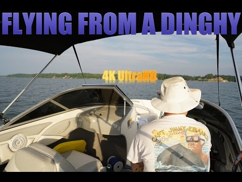 Flying a Drone from the Dinghy
