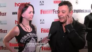FrightFest 2016 - Charlotte Salt, Johannes Kuhnke, Ben Parker and Jamesdfield On The Red Carpet