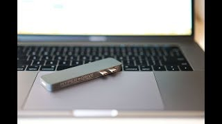 HyperDrive USB-C Adapter for MacBook Pro Unboxing