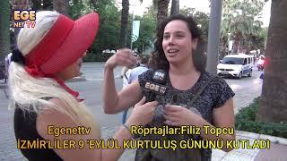 İzmir'liler 9 Eylül Kurtuluş gününü  kutladı