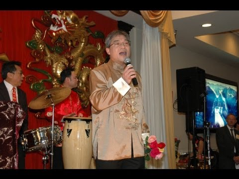 Chinese Hainan New Year Celebration 2013  Part 2.  Honorary Singers
