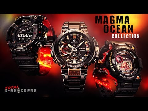 G-Shock Magma Ocean Collection Comparison | GPRB1000 Rangeman | GWF1035 Frogman | MTGB1000 thumbnail