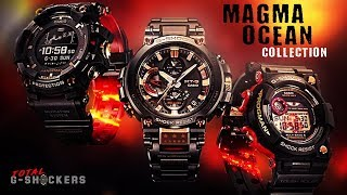 G-Shock Magma Ocean Collection Comparison | GPRB1000 Rangeman | GWF1035 Frogman | MTGB1000