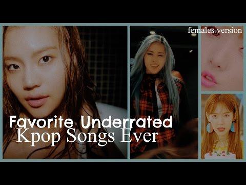 (Top 30) Favorite Underrated KPop Songs Ever   Female Artists