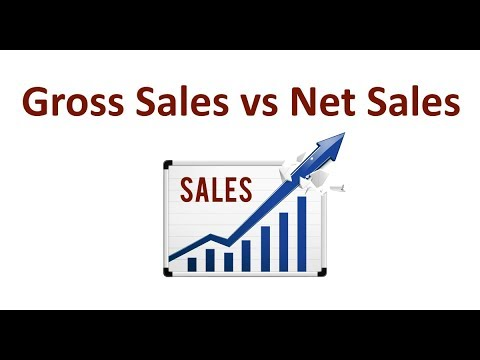 What Is The Difference Between A Gross Sales And A Net Sales?