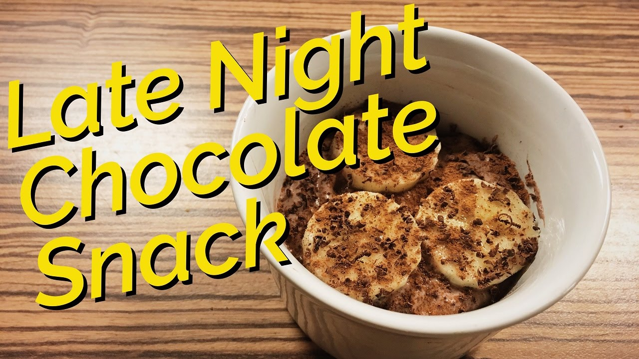 Low Carb Chocolate Snack Healthy High Protein Late Night Greek
