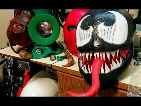 Venom DIY mask cosplay build