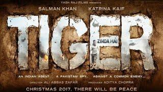 Tiger Zinda Hai First Look - Salman Khan And Katrina Kaif Releasing Christmas 2017