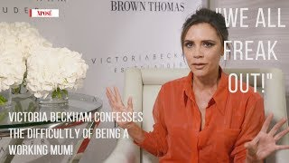 Victoria Beckham Talks Working Mum Life, David and Beauty Secrets!