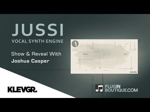 JUSSI Vocal Synthesiser By Klevgrand Produktion - Show & Reveal