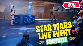 Full Fortnite Star Wars Live Event (Secret Trailer /J.J. Abrams/ Lightsaber Gameplay)*No Commentary*