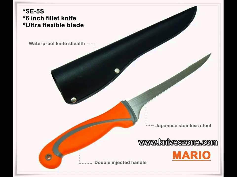 fillet knife fishing knife boning knife commercial grade fillet knife youtube. Black Bedroom Furniture Sets. Home Design Ideas