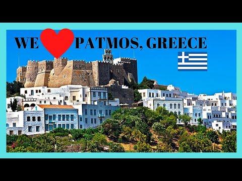GREEK island of PATMOS, unforgettable SUMMER NIGHT-SHOPPING