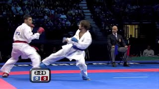 Rafael Aghayev vs Luigi Busa :: WKF Karate Male Kumite Final -75kg :: Belgrade 2010