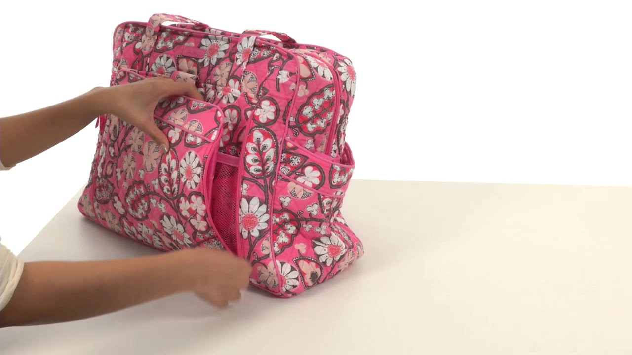 c288b595680 Vera Bradley Large Stroll Around Baby Bag SKU 8611039 - YouTube