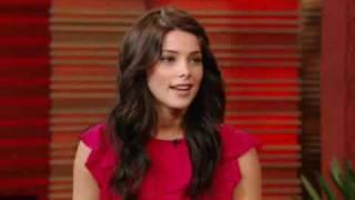 Ashley Greene on Regis and Kelly 11/30/2009