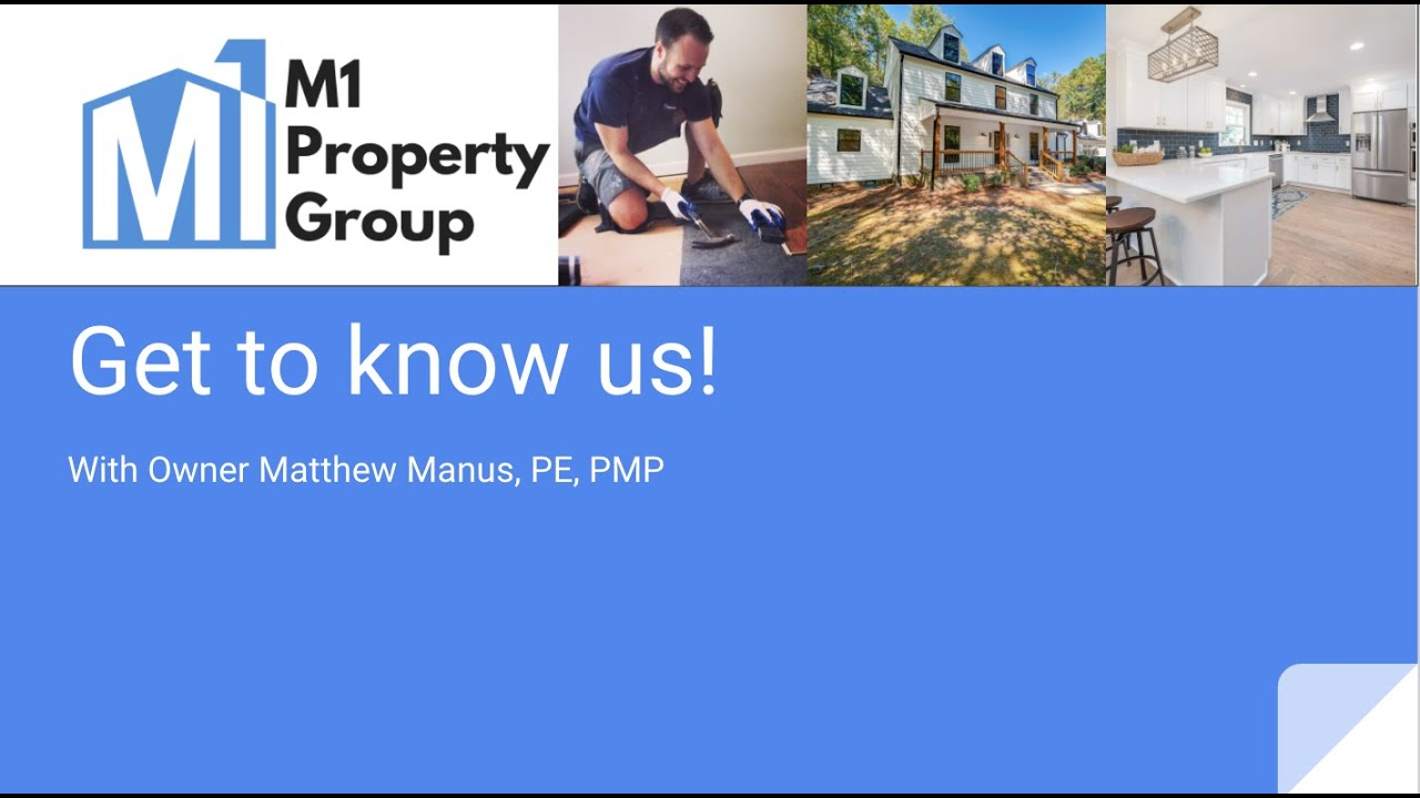 M1 Property Group Web Introduction - Presentation