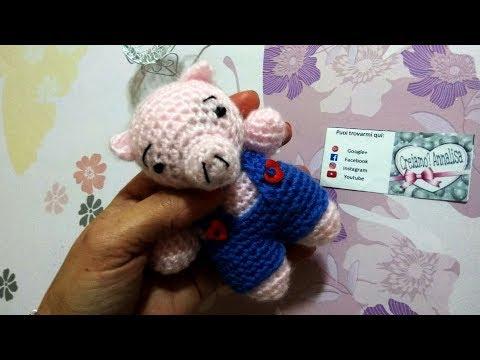 Cane bassotto uncinetto amigurumi, Dachshund dog crochet (english ... | 360x480