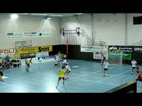 Treffer für St. Otmar gegen Fortitudo Gossau (Zeitlupe) / 1.12.2016