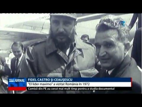 Fidel Castro şi Ceauşescu - liderul cubanez era un prieten al României în perioada comunistă