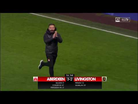 FULL TIME REPORT | Aberdeen 3-2 Livingston