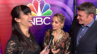 Nicole richie and john michael higgins talk 'great news' with hollywoodtoday