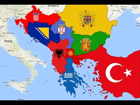 Real Balkan Map