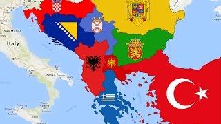Real Balkan Map