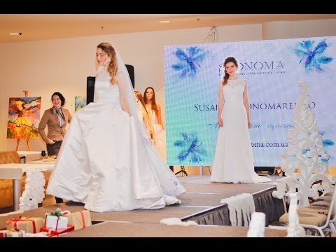 Показ весільних суконь від Сюзанни Пономаренко та фотосесія на ANTVAN FASHION Days 2015/16