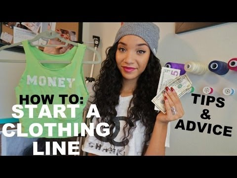 Vlog How To Start A Clothing Line Youtube