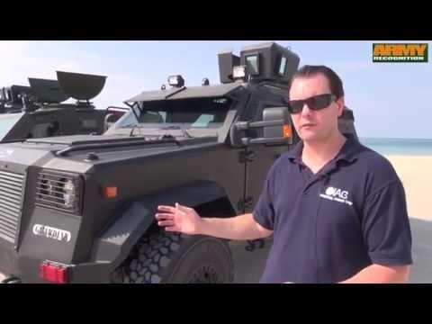 IAG International Armored Group factory Ras Al Khaimah UAE Jaws Guardian APC test drive