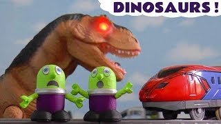 Dinosaur Stories With Toy Dinosaurs Thomas The Tank Engine And The Funny Funlings Tt4u