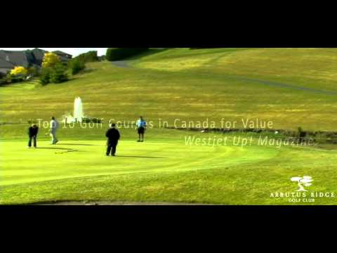 Arbutus Ridge Golf Club Overview Video, near Victoria on Vancouver Island