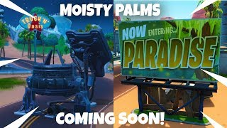 """(GIFTING) NEW """"MOISTY PALMS"""" RIFT ZONE // KEVIN CUBE COMING BACK?! (Fortnite Battle Royale LIVE)"""