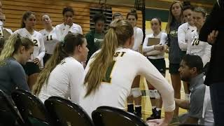 LIU Post Volleyball Highlights vs. Mercy Sept. 28