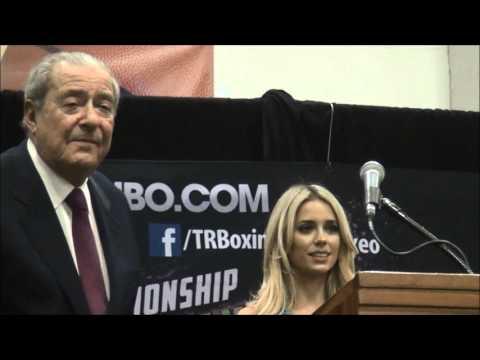 Timothy Bradley   Brandon Rios Post Fight press Conference, November 7, 2015