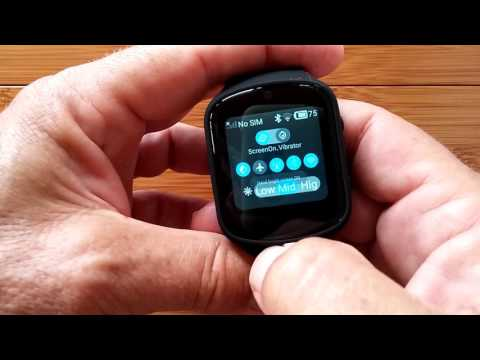 Z80 Front Camera Android 5.1 Smartwatch: Unboxing and Review