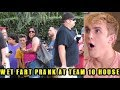 FUNNY FART PRANK ON JAKE PAULERS AT JAKE PAUL HOUSE WITH THE SHARTER